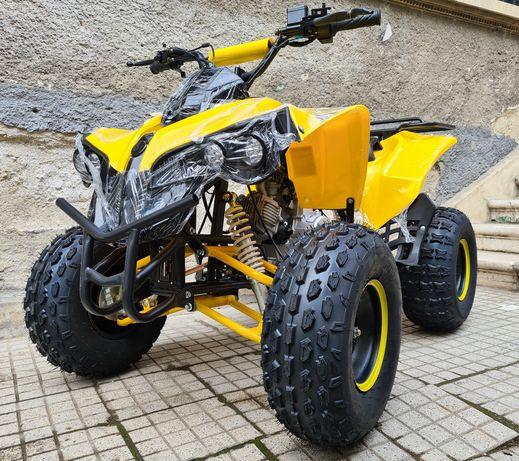 ATV 125cc motor 4 timpi benzina roti 8 inch