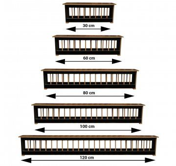 Hranitori porumbei tego 0.5 , 0.75 , 1m , 1.2m , 1.5m