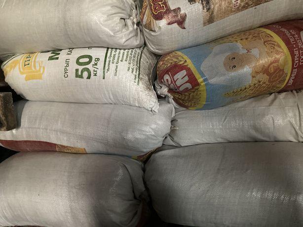 Зерноотходы от семечкек в мешках 400тг