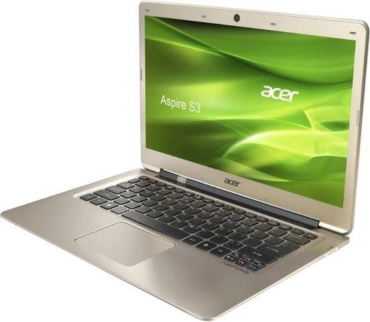 Ультрабук Acer Aspire S3 Silver (Core i3, SSD128 GB) С доставкой.