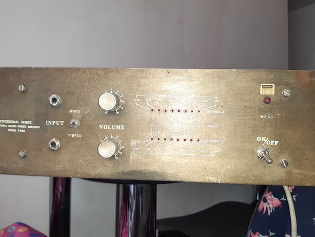 Amplificator profesional vintage 2 ×200w