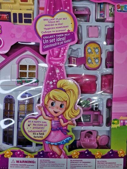 Къща за кукли, сапунени балончета за деца Дори