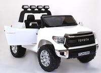 Masinuta electrica Kinderauto Toyota Tundra 2x35W PREMIUM #Alb