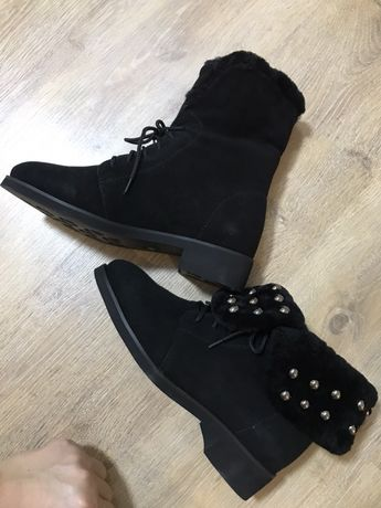 Ботинки Новые 38 р натуралка