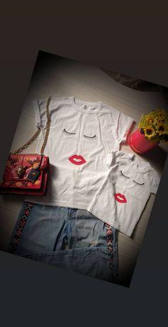 Tricouri personalizate Mama&Fiica