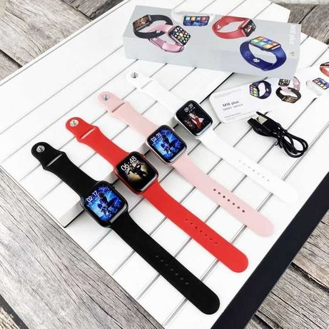 Смарт часы, Smart watch m16 plus+/hw22/M26+/HW22+/W26+ГАРАНТИЯ/Алматы