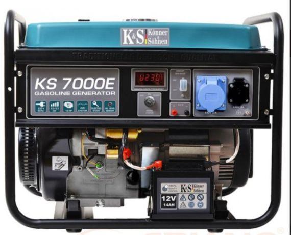 Generator de curent 5.5 kW benzina PRO - Konner - KS-7000E-ATS