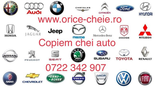 Copiem chei auto originale