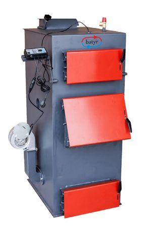 Автоматический котёл длительного горения в Караганде на 150 кв.м.