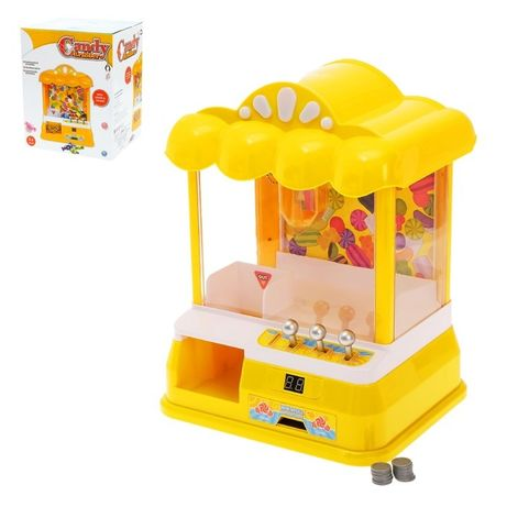 Детский игровой автомат с игрушками