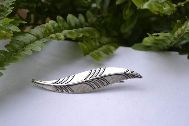 Brosa argint Art Deco semnata WMF IKORA anii 30