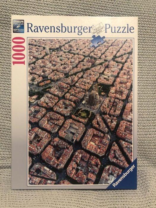 Puzzle Ravensburger 1000 piese Barcelona Ploiesti - imagine 1