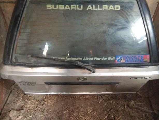 5 задняя дверь на Subaru Legacy унивирсал