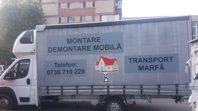 Trasport marfa , Montare si Demontare Mobila