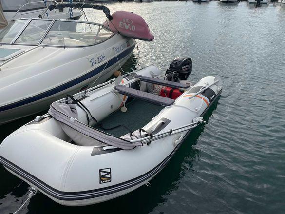Zander BD 330P ALU inflatable boat + Mercury 15 2018