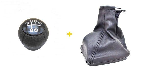 Комплект Маншон + Топка за скоростен лост за Опел Корса Ц