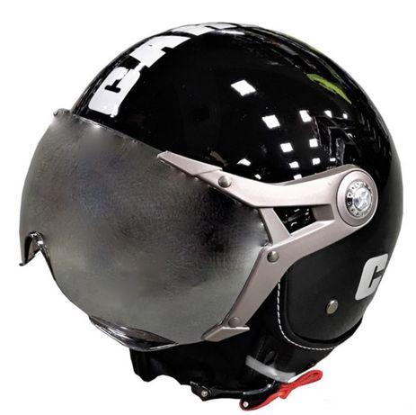 Каска за мотор k-200 - черна НОВО !!!