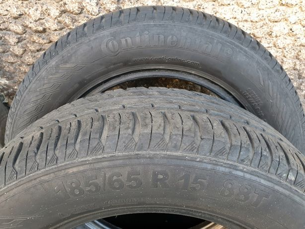 Vand set 4 anvelope Continental ContiEcoContact 185/65 R15 stare buna!