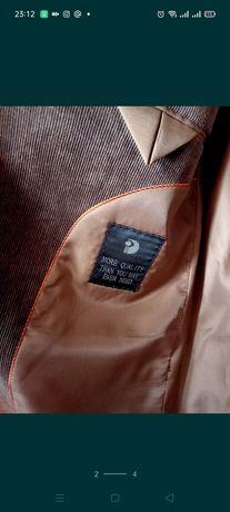 Вельветовый костюм мужской