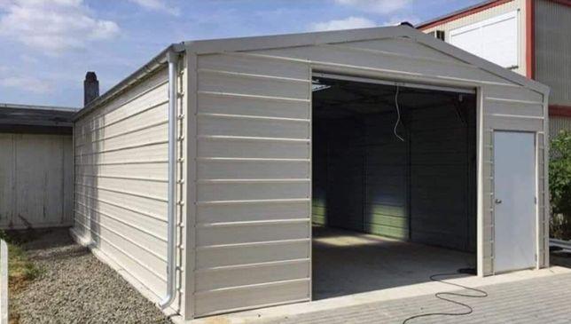 Garaje hale structuri metalice