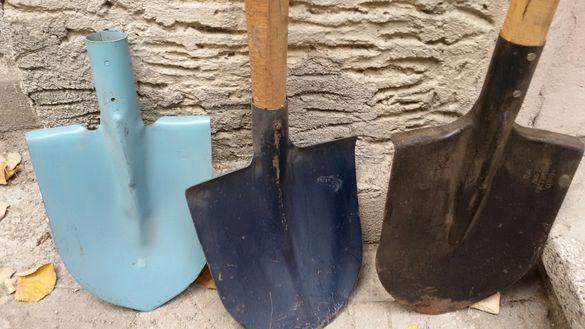 Български прави и криви лопати