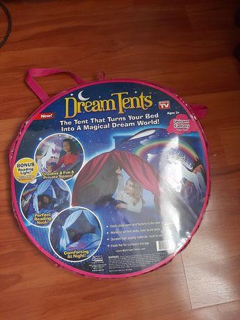 Cort pat unicorn pentru copii