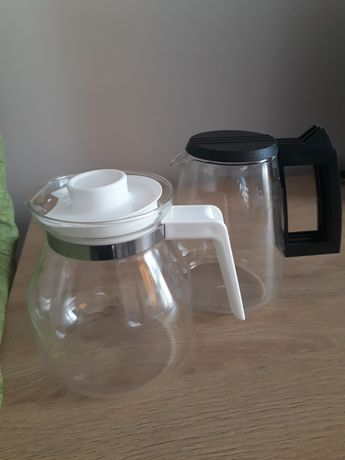 Cafetiera, material pyrex.