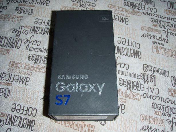 Cutie Samsung S7 black, fara accesorii