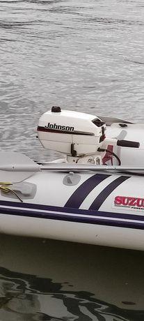 Motor barca Johnson 4cp 2timpi