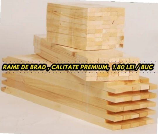 Rame de brad stas 1/1 calitate premium,  pret 1.80 lei / buc