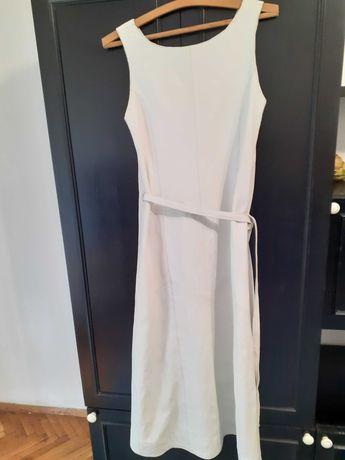 Бяла кожена рокля