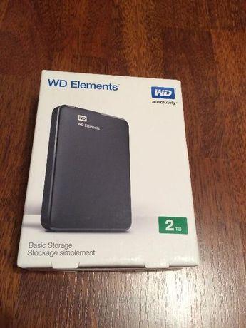SIGILAT Hard disk extern WD ELEMENTS si Toshiba Canvio 2tbde 2,5 Nou