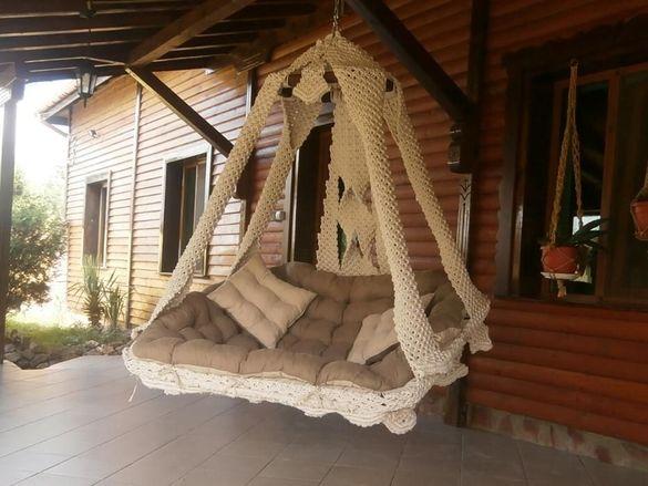 Плетено висящо канапе: DIEMA ROYAL