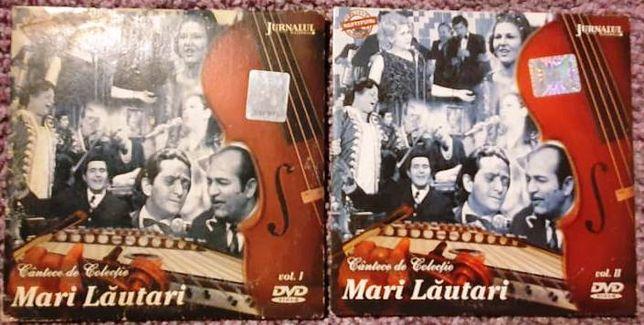 Doua DVD-uri Mari Lautari, vol I si II