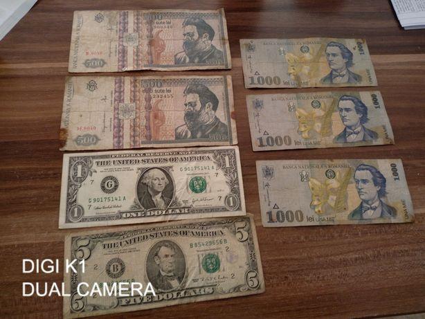 Bancnote de 500 lei și 1000 lei