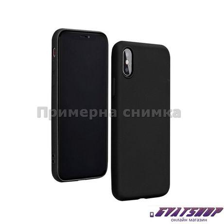 Кейс Forcell Silicone Lite за Huawei P40 Lite E, черен