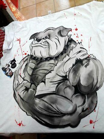 Ръчно рисувани дрехи-Тениски за деца и възрастни