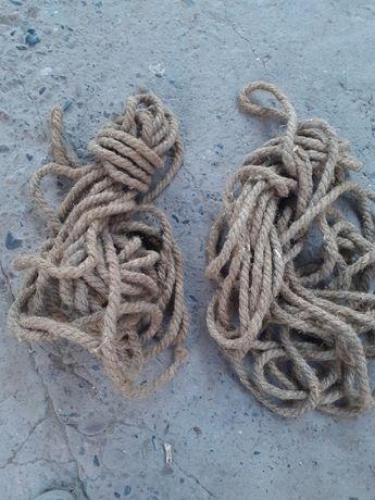 Продам 2 вида веревки