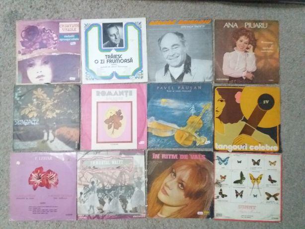 12 Discuri vinil tangoquri,romante,valsuri,stare foarte buna