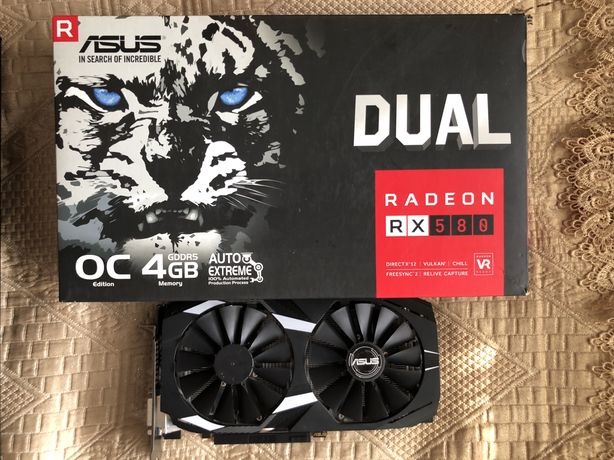 ASUS Radeon RX580 Dual OC 4GB