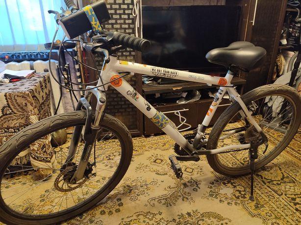 Велосипед в хорошем техническом состоянии