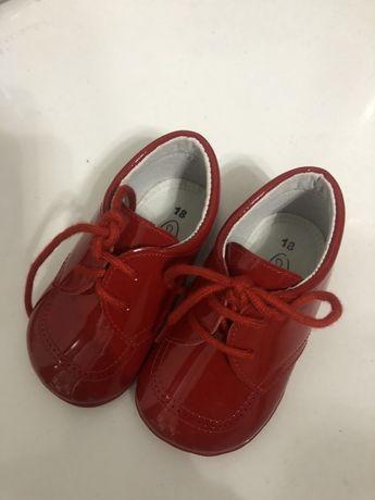 Vand pantofi din piele Anee Bebe pt bebelusi 0-6luni