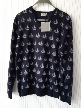 Луксозен мъжки пуловер Guido Maria
