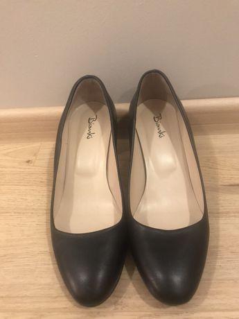 Дамски обувки на ток от естествена кожа Бианки Bianki