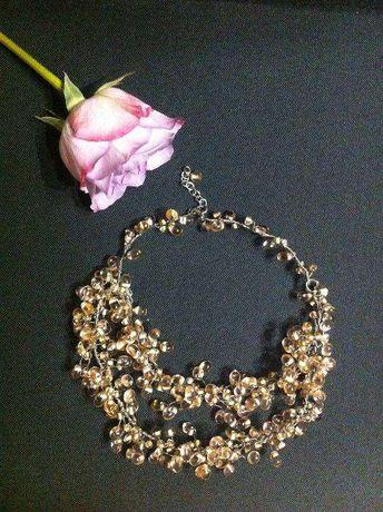 Colier unicat / hand made / mireasa / fashion