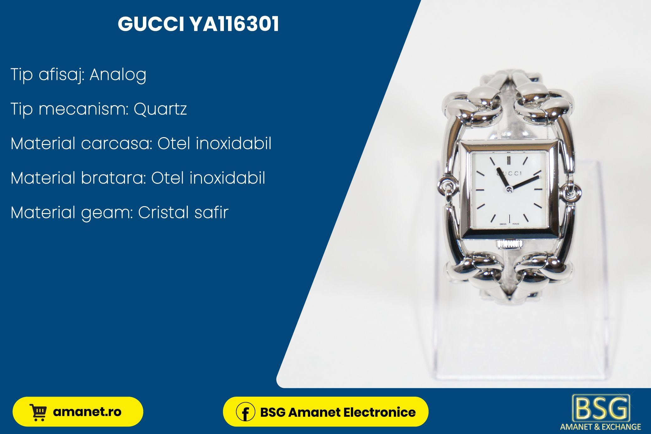 Ceas Gucci YA116301 - BSG Amanet & Exchange
