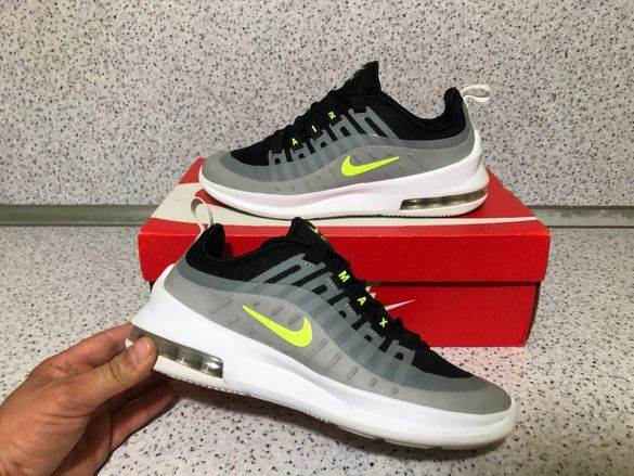 ОРИГИНАЛНИ *** Nike Air Max Axis / Black / Volt / Wolf Grey