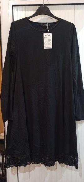 Нова дамска рокля с горен клош и дантела