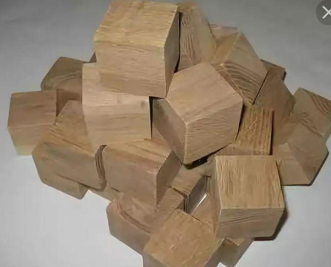 шашки (кубики, бобышки) для производства поддонов (паллет). 70тг за 1.