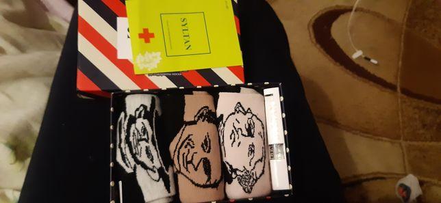 Подарочный набор для мужчин SULTAN носки 3 пары и духи